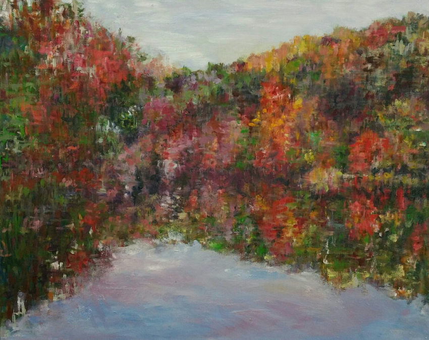 Kyung Shin/Dutch Hollow Lake/30x24/oil