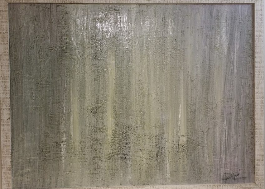 Untitled, Size; 65 x 45 inches  Medium; oil painting on canvas